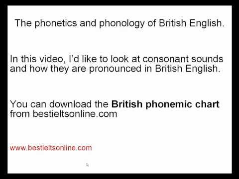 Tips for a higher Band Score - pronunciation 5 (British English) for the IELTS Speaking Test .