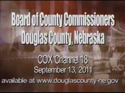 Board of County Commissioners, Douglas County Nebraska, September 13, 2011 Meeting