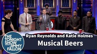 Musical Beers with Ryan Reynolds and Katie Holmes