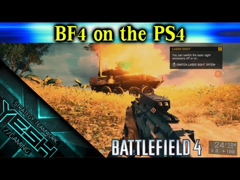 BF4 on the PS4 - LIVE!