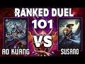 Smite: S4 - Ranked Duel #101 - Ao Kuang vs Susano