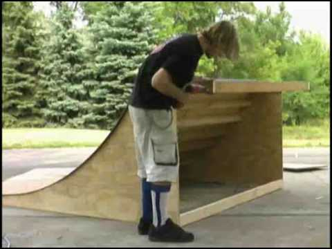 building a mini ramp youtube. Black Bedroom Furniture Sets. Home Design Ideas