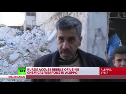 SYRIAN Kurds say jihadists used phosphorus in chemical attack in ALEPPO