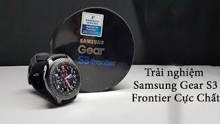 V Channel   Giới thiệu   Trải nghiệm   Review chiếc smartwatch Samsung Gear S3 Frontier cực chất