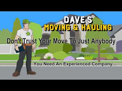 Local Movers in Oak Park IL / Dave's Moving and Hauling / 708-774-9555