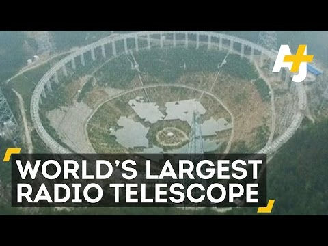 China fits final piece on worlds largest radio telescope news