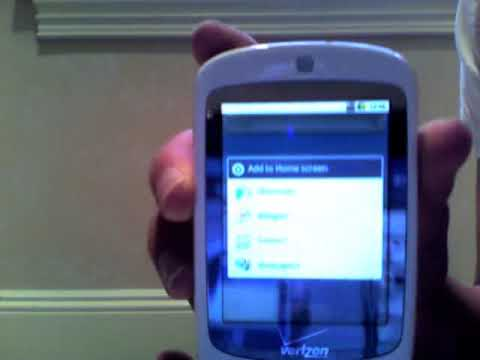 Video: Android 2.0 on XV6900 (Vogue)