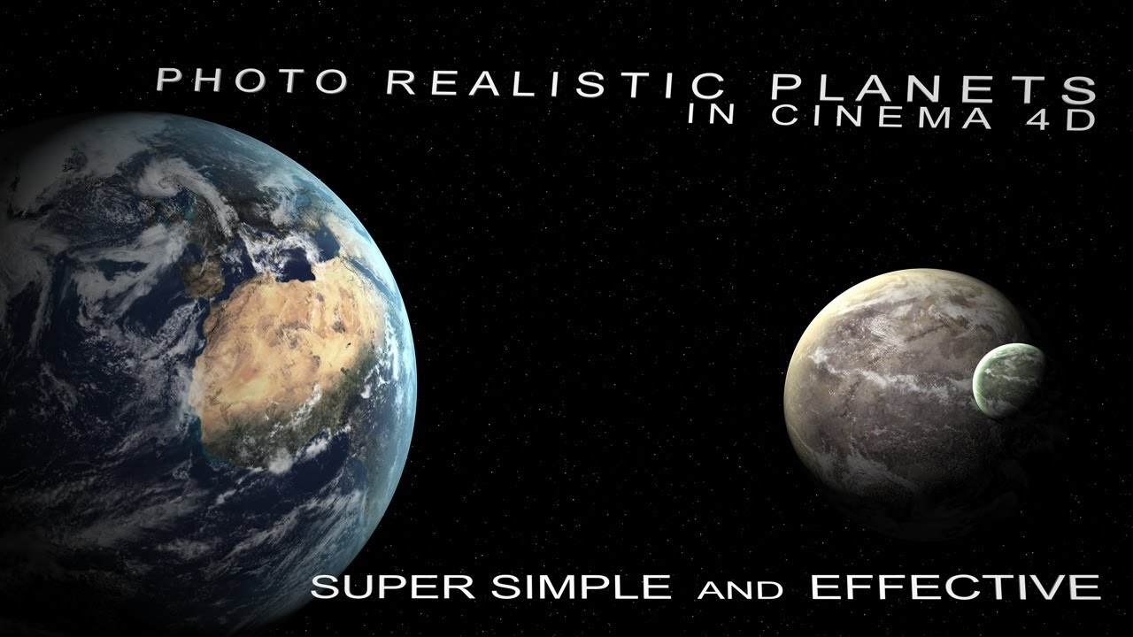 Earth Model Cinema 4d Cinema 4d Tutorial Earth And