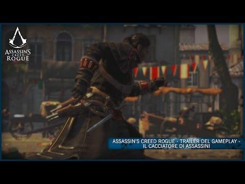 Assassin's Creed Rogue - Trailer del Gameplay - Il cacciatore di Assassini [IT]