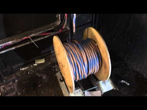 Elevator Upgrade Part 9 Running New Hoistway Wire