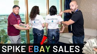 HOW TO SPIKE SALES IN YOUR EBAY BUSINESS IN 24 HOURS OR LESS!