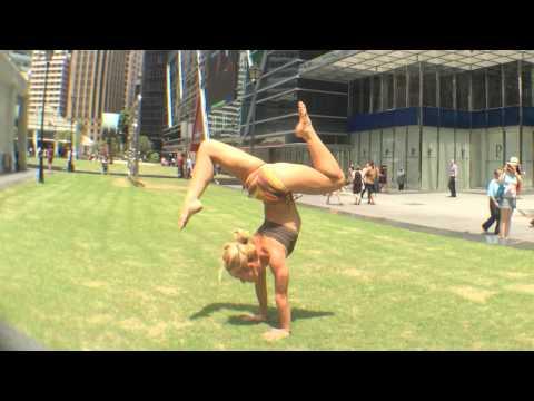 Singapore Yoga Handstand