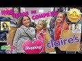 Comprando en Claire's con Lady Pecas y Silvia Sánchez   DivertiGuay