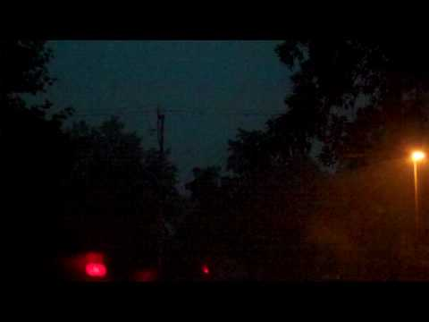 Rain, Wind and Lightning, New Brighton, MN, 2010-07-12
