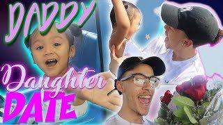 Daddy Daughter Date! | (BOYFRIEND BUYS GIRLFRIEND FLOWERS)
