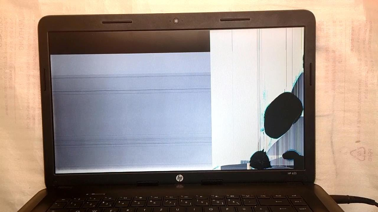 Broken hp Laptop Screen hp Laptop Change Screen