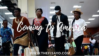 The Longest travel to  America - SUMMER 2018! | TheFisayo