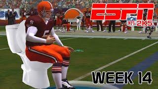ESPN NFL 2K5 - Cleveland Browns Vs New York Jets - Week 14