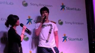 Lee Hom in Singapore for Starhub (Private Event) - Ni Bu Zhi Dao De Shi
