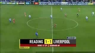 Reading 3 Liverpool 1