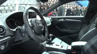 Audi A3 Sportback - Парижский автосалон 2012