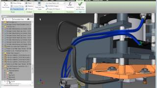 Autodesk Inventor 2016 - Tube and Pipe Design