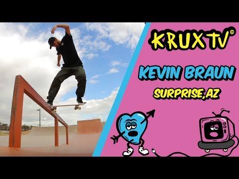 Surprise surprise! Kevin Braun rips the Surprise, AZ park