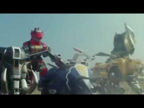 Super Megaforce Legendary Megazord (fanmade)