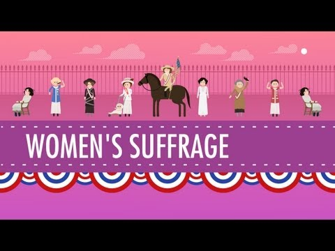 Women's Suffrage: Crash Course US History #31