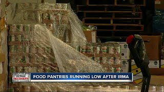 After Hurricane Irma, food banks depleted by high demand