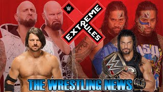 The Wrestling News - Extreme Rules PPV 2016