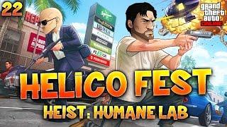 Fanta et Bob dans GTA V - Ep. 22 : HELICO FEST (HEIST)