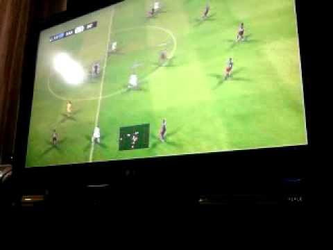 Inter de Milão vs Barcelona no PES 2011 PS3