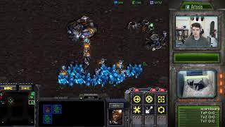 StarCraft Remastered 1v1 (FPVOD) Artosis (T) vs please.... (T) Ground Zero