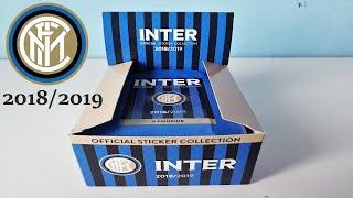 CHI TROVA LA 3D SPECIAL CARD VINCE!   APERTURA BOX   INTER OFFICIAL STICKER COLLECTION 2018/2019