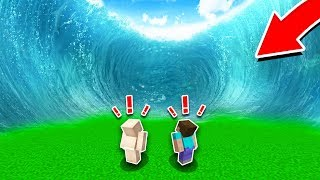 2 NOOBS vs EXTREME MINECRAFT STORMS!