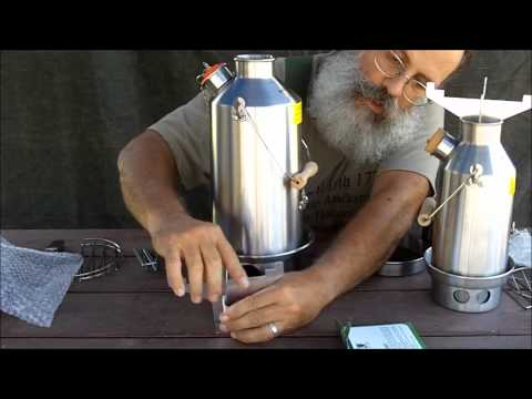 Kelly Kettle Survival & Camping Stove, Review and Demonstration