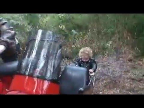 Orla Vespa Sidecar Girl