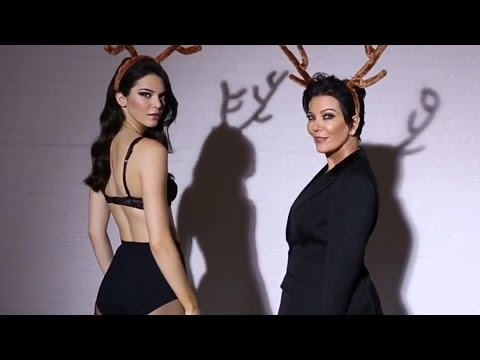 Kendall & Kris Jenner Dance & Show Off Their Legs for LOVE Magazine