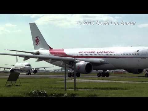Air Algerie A330-200 Special! at Heathrow Airport