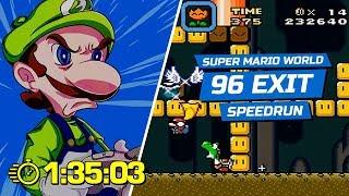Super Mario World - 96 Exit - 1:35:03