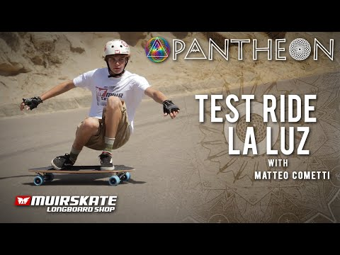 Test Ride Pantheon La Luz with Matteo Cometti | MuirSkate Longboard Shop