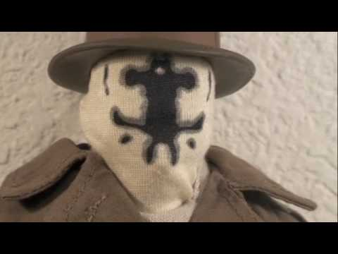Watchmen DC Direct Deluxe Collector 1/6 Scale Movie Rorschach Toy Review