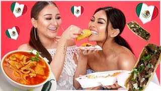 TRYING MEXICAN FOOD   Roxette Arisa