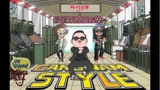 Psy Vs Lmfao Everyday I 39 M Gangnam Style Full Length High Quality