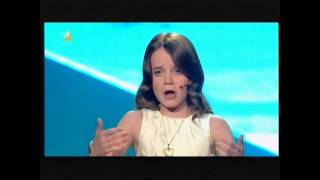 Amira Willighagen and the 4 opera  songs at Holland's Got Talent 2013