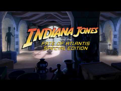 Indiana Jones and the Fate of Atlantis Special Edition [DEMO] - Livestream