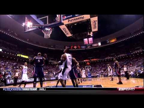 Orlando Magic All Field Goals Highlights vs Atlanta Hawks - 2010 Playoffs Game 2