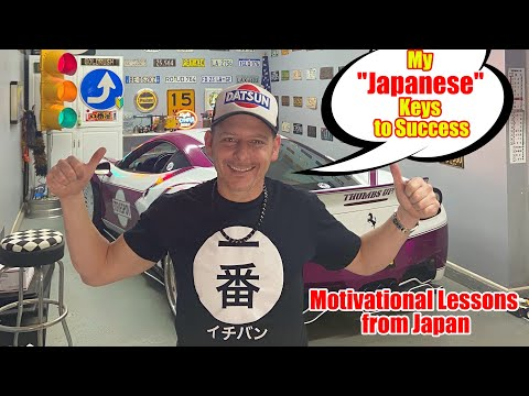 "My ""Unique"" Japanese Road to Success in Life! Key Beliefs That Will Inspire You! Motivational Monday"