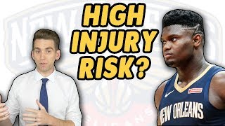 I've Never Been More Worried Watching an NBA Game | Zion Williamson Injury Risk